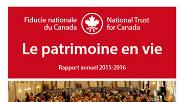 Rapport annuel – 2015-2016