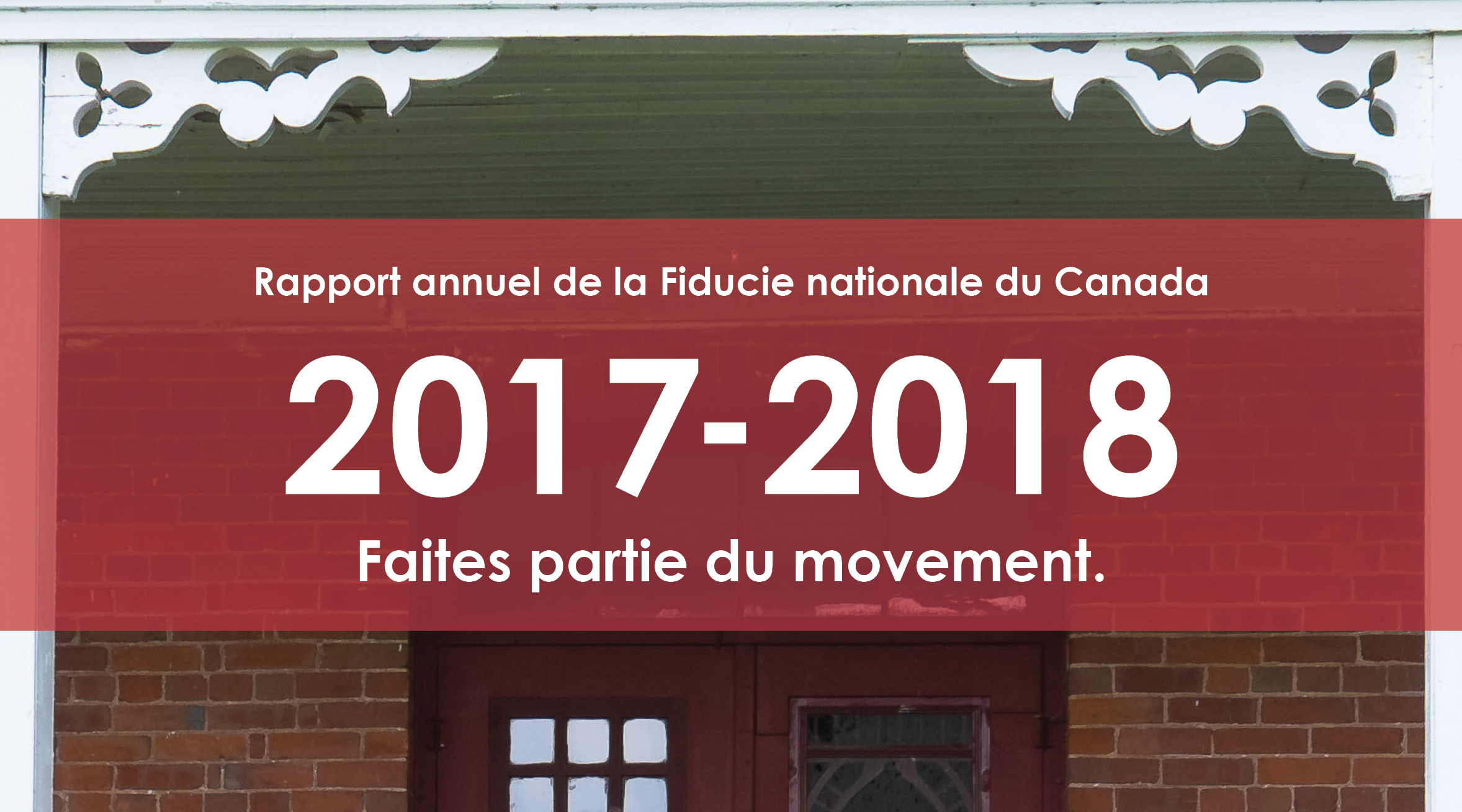 Rapport annuel – 2017-2018