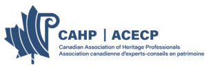 Partners - Canadian Association of Heritage Professionals